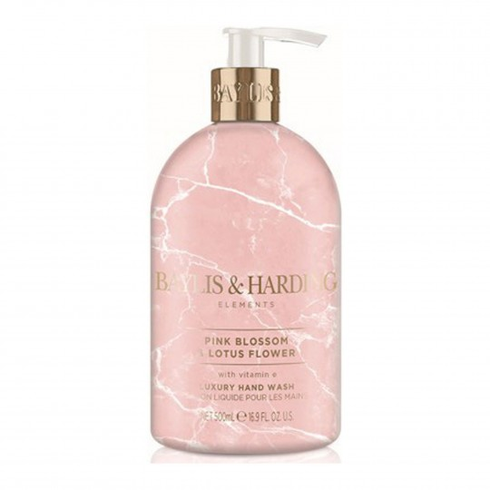 Elements Pink Blossom & Lotus Flower kätepesuseep 500ml