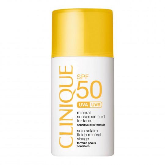 Mineral Sunscreen Fluid for Face SPF50 päikesekaitsekreem näole 30ml