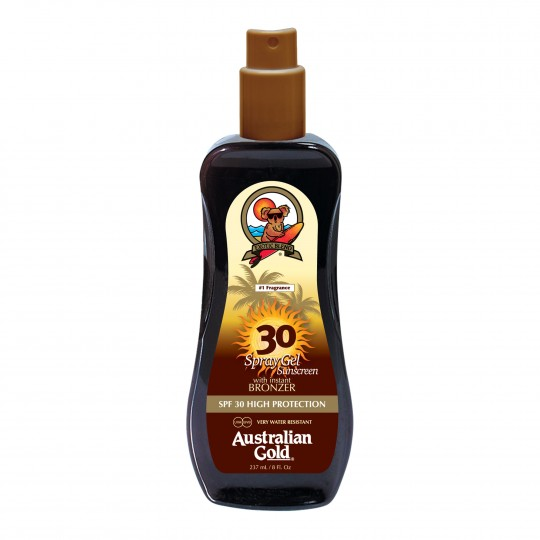 Spray Gel with Bronzer SPF 30 pruunistav päevitusgeel 237ml