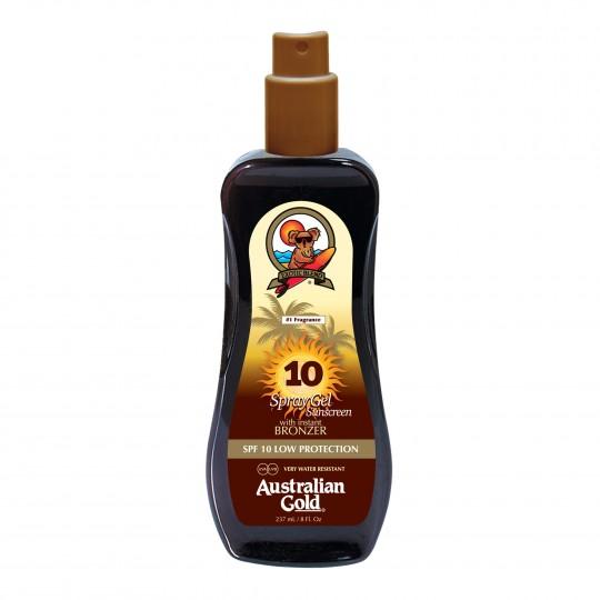 Spray Gel with Bronzer SPF 10 pruunistav päevitusgeel 237ml