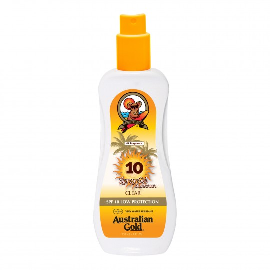 Spray Gel SPF 10 päevitusgeel 237ml