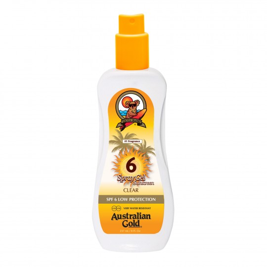 Spray Gel SPF 6 päevitusgeel 237ml