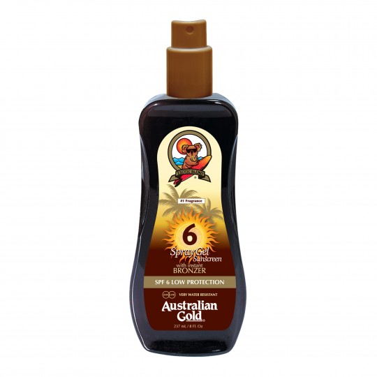 Spray Gel With Bronzer SPF 6 pruunistav päevitusgeel 237ml