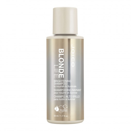 Blonde Life Brightening Shampoo taastav šampoon blondeeritud juustele 50ml