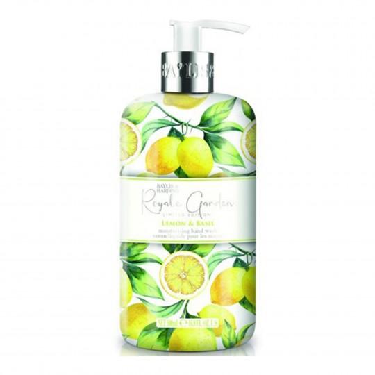 Royale Garden Lemon & Basil kätepesuseep 500ml