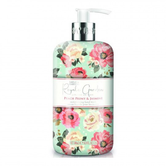 Royale Garden Peach Peony & Jasmine kätepesuseep 500ml
