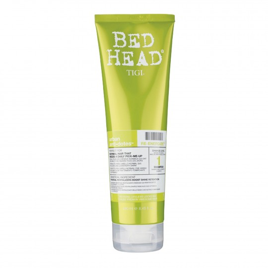 Bed Head Urban Anti+Dotes Re-Energize Shampoo niisutav ja tugevdav šampoon 250ml