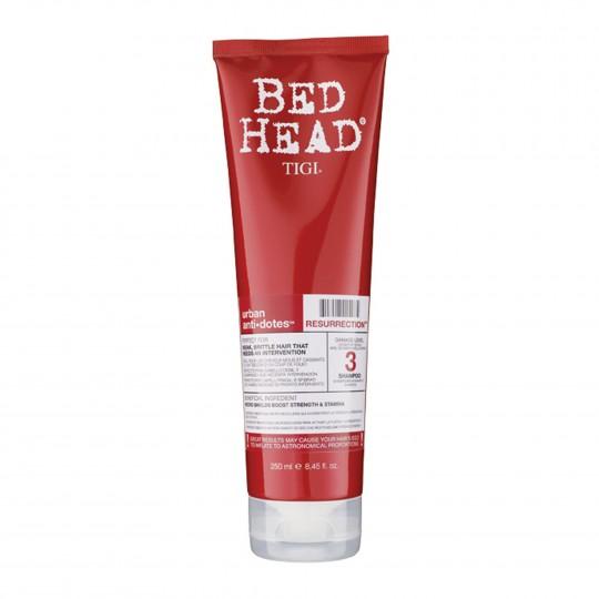 Bed Head Urban Anti+Dotes Resurrection Shampoo tugevust andev šampoon 250ml