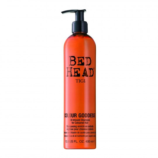 Bed Head Colour Care Colour Goddess Shampoo juuksevärvi kaitsev šampoon 400ml