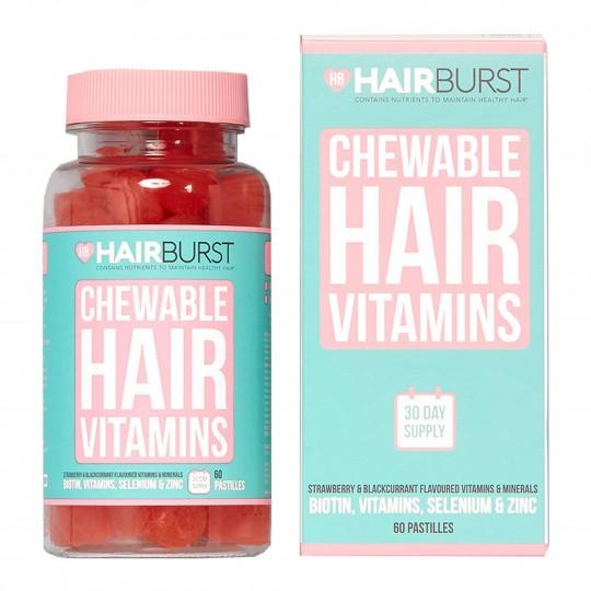 Hearts juuksekasvu vitamiinid 60 närimispastilli