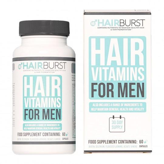 Men juuksekasvu vitamiinid meestele 60 kapslit
