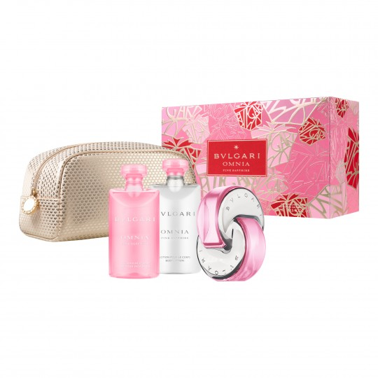 Omnia Pink Sapphire EdT kinkekomplekt
