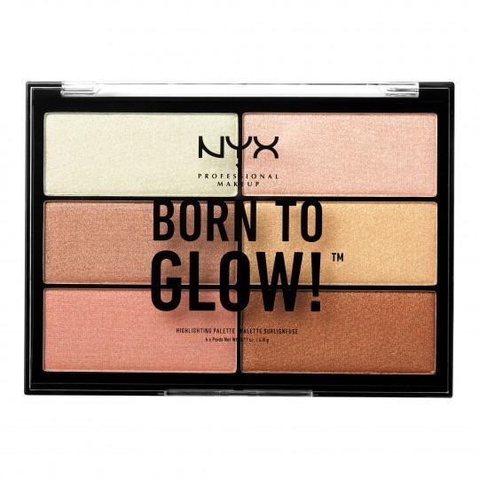 Born To Glow särapuudrite palett