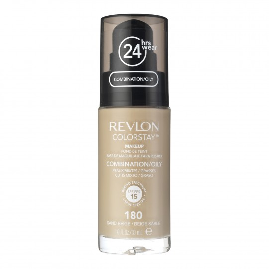ColorStay™ Makeup jumestuskreem kombineeritud/rasune nahk 30ml , 180 sand beige