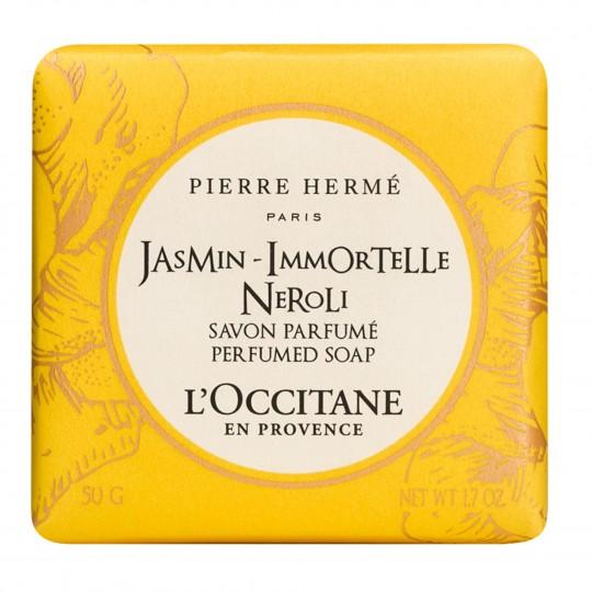 Pierre Hermé jasmiin-käokuld-neroli seep 50gr