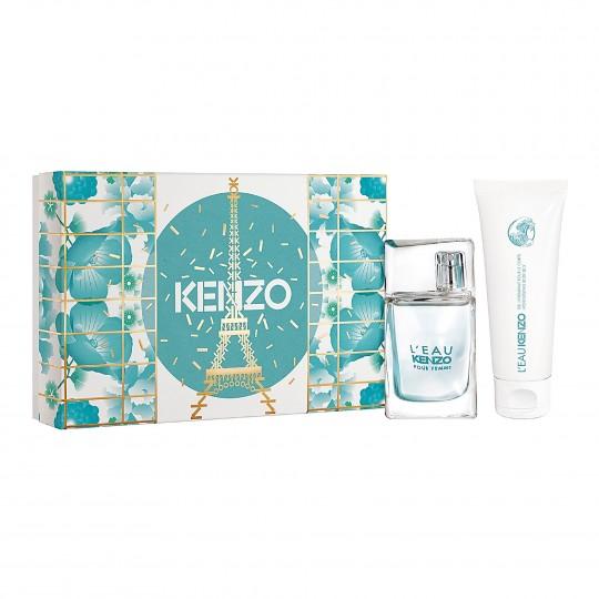 Kenzo L'eau pour Femme EdT kinkekomplekt