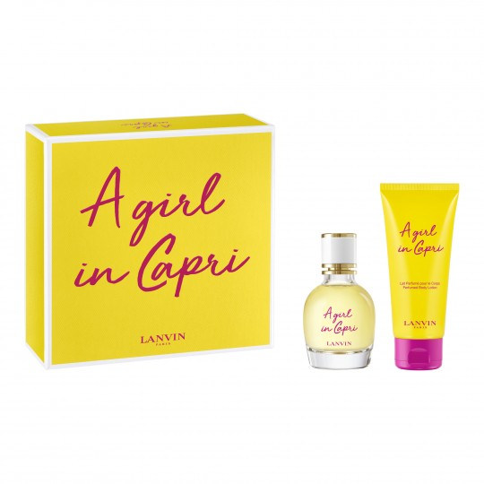 Girl In Capri EdT kinkekomplekt