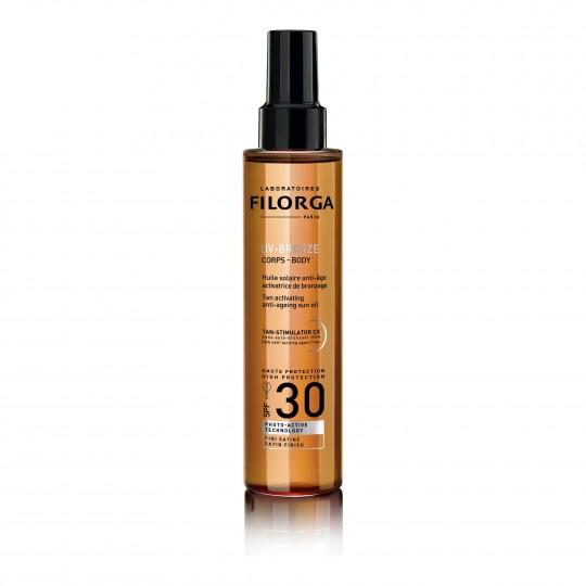 UV-Bronze Body SPF30® mitmekülgne Anti-Age päikesekaitseõli kehale 150ml