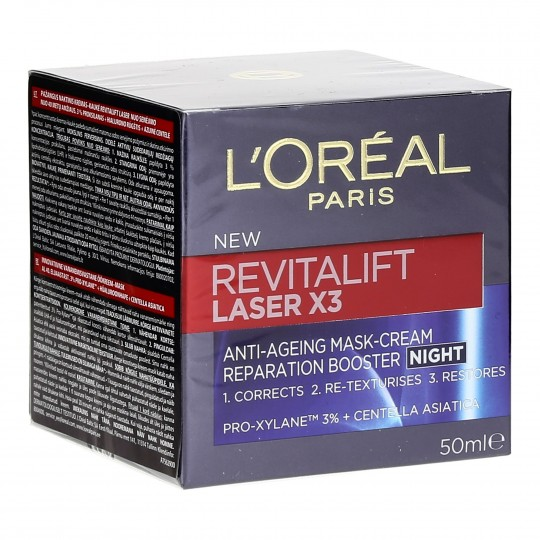 Revitalift Laser öökreem-mask 50ml