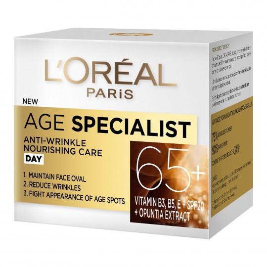 Vananemisvastane päevakreem Age Specialist 65+ 50ml