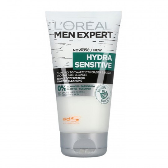 Men Expert Hydra Sensitive näopesugeel 150ml