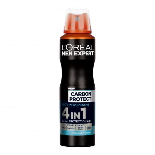 Men Expert Carbon Protect spreideodorant 150ml