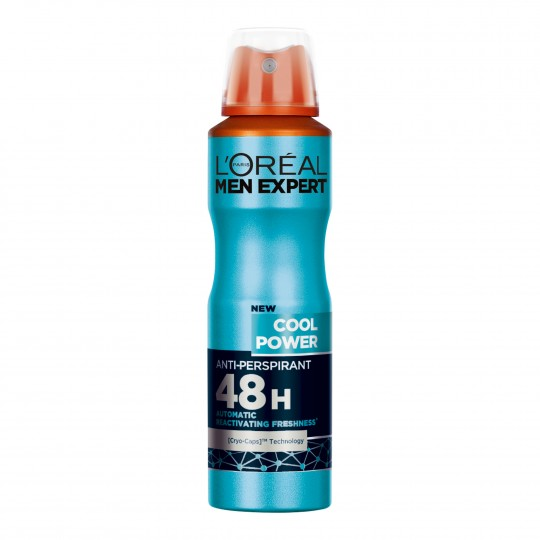 Men Expert Cool Power spreideodorant 150ml