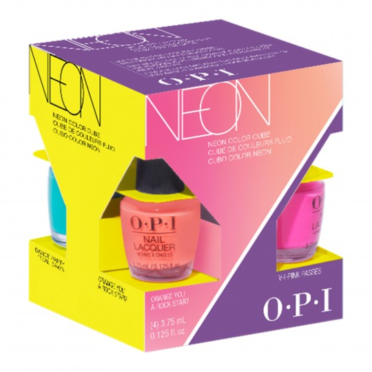 Neon Nail Lacquer minilakkide kmpl 4x3,75ml