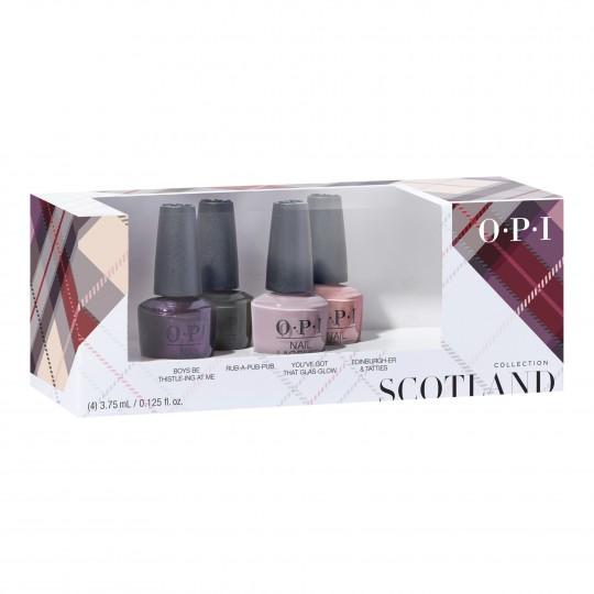 Scotland - Nail Lacquer minilakkide komplekt 4x3,75ml
