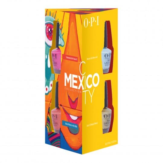 MexicoCity minilakkide komplekt 4x3,75ml
