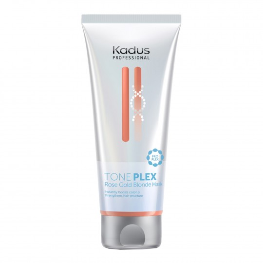 TONEPLEX Rose Gold Blonde tooniv, sidemeid taastav mask 200ml