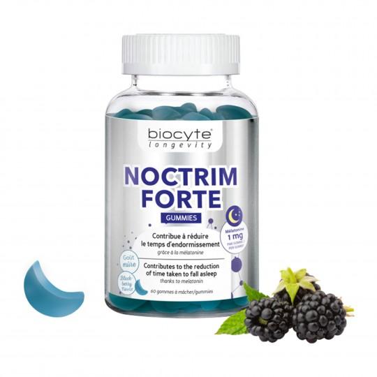 Noctrim Forte melatoniini kummikommid 60tk