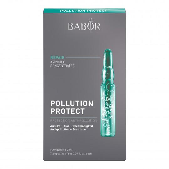 Pollution Protect Fluid keskkonnamõjude eest kaitsvad iluampullid 7x2ml