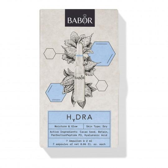 Niisutavad ja sära andvad iluampullid Hydra 7x2ml