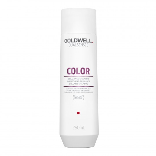 Dualsenses Color Brilliance Shampoo värvikaitsega läiget andev šampoon õhukestele juustele 250ml
