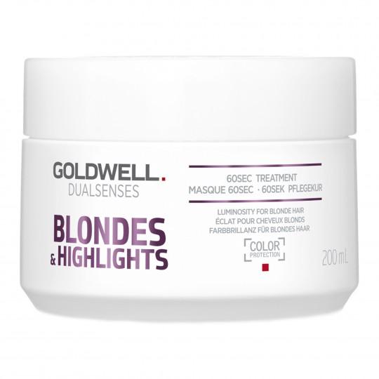 Dualsenses Blondes&Higlights 60 Se Treatment intensiivmask blondidele ja triibutatud juustele 200ml