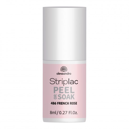 Striplac Peel & Soak French Rosa UV/LED küünelakk 8ml