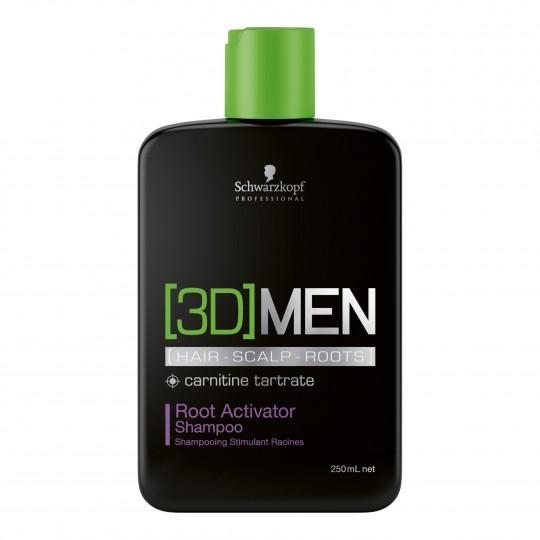 Root Activator Shampoo 3D aktiveeriv šampoon meestele 250ml