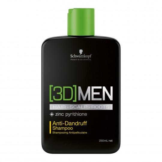 Anti-Dandruff Shampoo 3D kõõmavastane šampoon meestele 250ml