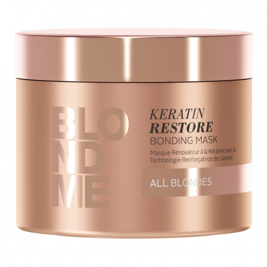 Blondme Keratin Restore Bonding Mask taastussüvahooldus 200ml