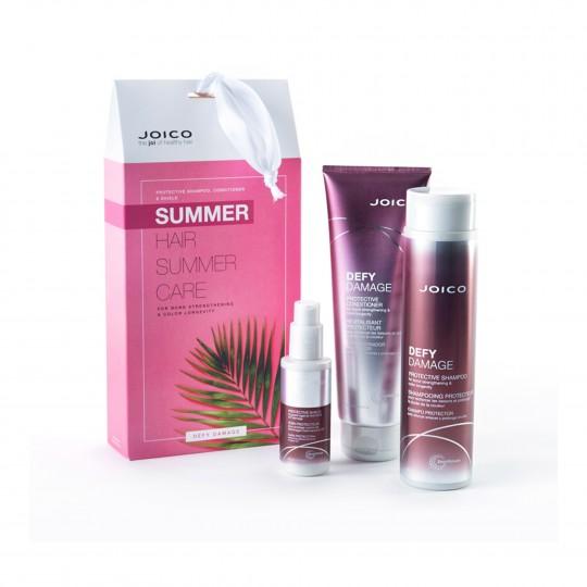 Defy Damage kahjustuste eest kaitsev juuksehooldustoodete suvekomplekt