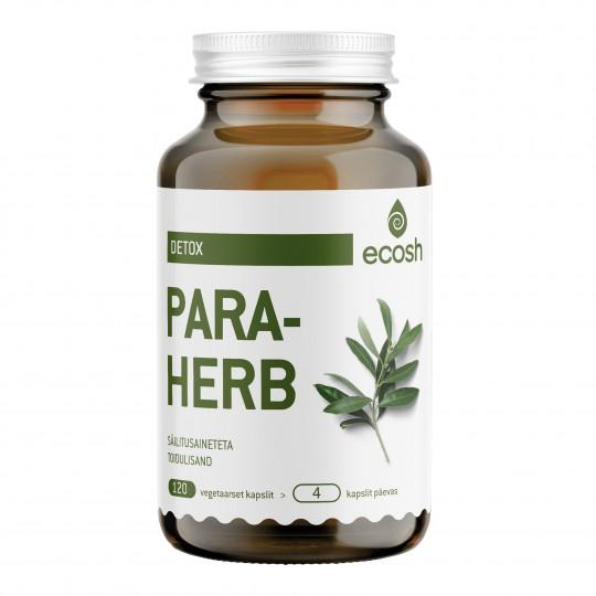 Para-Herb toidulisand 120 kapslit