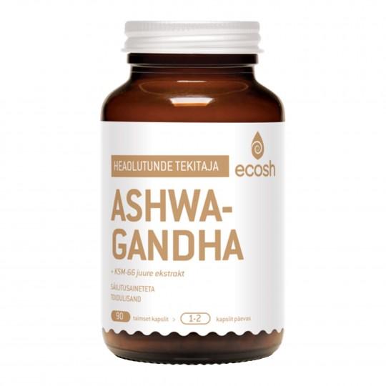 Ashwagandha toidulisand 90 kapslit