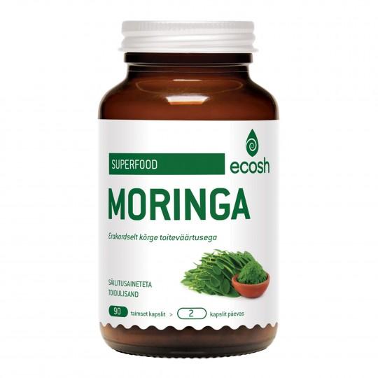 Moringa toidulisand 90 kapslit