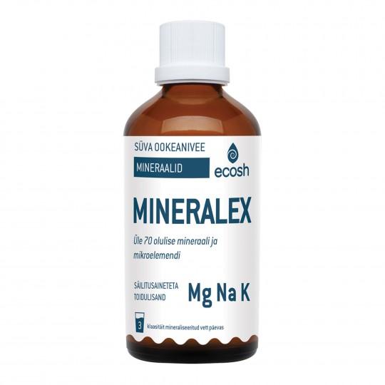 Mineralex, süvaookeanivee mineraalid 100ml