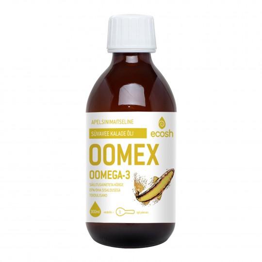 Oomex, Omega 3-6-9 rasvhapete kompleks 300ml