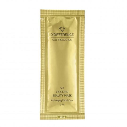 5D Golden Beauty Mask vananemisvastane hapnikusisaldusega mask 7ml