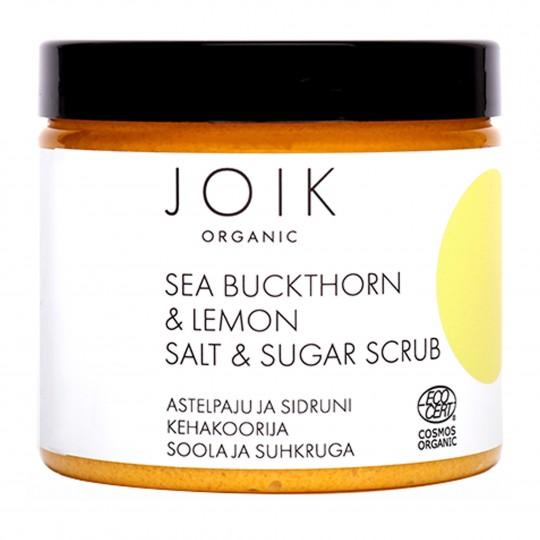Astelpaju ja sidruni kehakoorija suhkru ja soolaga 220g