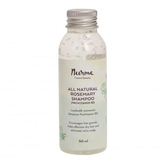 Looduslik rosmariini šampoon ProVitamin B5 50ml