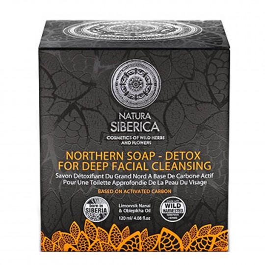 Northern Soap-Detox for Deep Facial Cleansing näopuhastus seep-mask detox 120g
